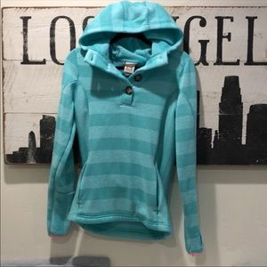 Avalanche Mint Green Hooded Pullover Jacket S